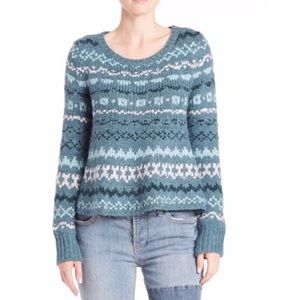 Free People Fair Isle Through the Storm Sweater.